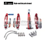 AEST Road Bike V Brake, Long Adjust Distance Brake Arms, Bicycle V-brake Shoes