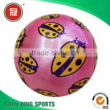 Children Toy balls pvc inflatable burped ball inflatable toy ball gas needle toy 10cm kids outdoor sports toys
