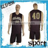 Maroon color plus size men's basketball uniform cool basketball jerseys designs
