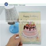 Wholesale music card and cheap decorating custom music happy birthday card song