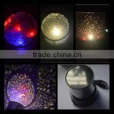 Generic Colorful Twilight Romantic Sky LED Star Master Projector Lamp Starry LED Night Light Bed Light