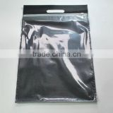 Alibaba china supplier common transparent advertising pvc plastic zipper packaging bag                                                                         Quality Choice