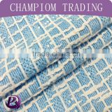 China 2015 hot sale rayon /polyester fashion knitting New Design jacquard fabric for girl clothing