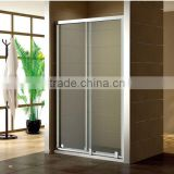 CE Certified double safe and hard door for shower enclosures/cabin/bathroom