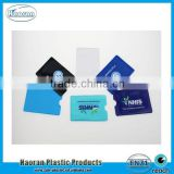 Soft PVC POSTEBANK ATM Card Holder, Credit Card Holder, Business Card Holder China Supply