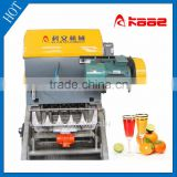 Automatic industrial citrus juicer press manufactured in Wuxi Kaae