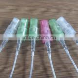 12MM PLASTIC PERFUME PUMP ON GLASS VIAL , 12MM PLASTIC PERFUME CRIMP PUMP , 12MM PLASTIC SCREW PUMP