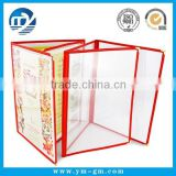 A5 clear pvc restaurant menu cover & plastic menu covers                                                                         Quality Choice
