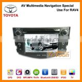 Car DVD Player for Toyota RAV4--Yotoon Newest 7 Inch GPS Car DVD System AV Multimedia Navigation Special Use for Toyota RAV4
