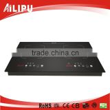4000W double induction cooker built in the table metal bottom case electric stove 2 burner