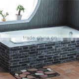 beautiful island bath typical bathroom enameled cast iron bath