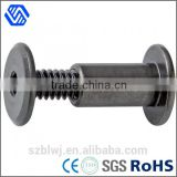 custom made special carbon steel black round head socket nut bolt                                                                                                         Supplier's Choice