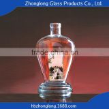 Low Price New Arrival Customizable 750Ml Whisky Glass Bottles