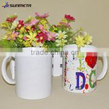 INquiry about Manufactory low price Sublimation white mug