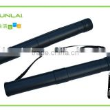High quality 8cm diameter adjustable empty archery tube plastic drawing tube plastic storage tube
