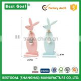 9.6in A pair easter bunnies for sale wooden easter rabbit gift