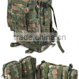 Outdoor combination packages, military surplus pack, shoulder bags, multi-functional combination packages, Molle system backpack