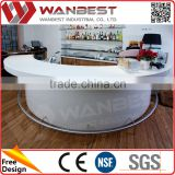 Home Curved Bar Counter For Sale Table Design                                                                         Quality Choice