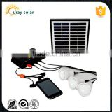 2014 new design Hot Selling 4W Portable solar lighting system for home With Mobile Changer led