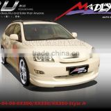 PU body kits for LEXUS-04-08-RX300, RX330, RX350-Style A