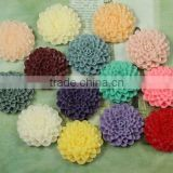 wholesale high quality flat back resin cabochon flower/resin cabochon cameo