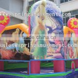 Latest hot sale Flower Fairy inflatable bouncer, inflatable jumping castle, inflatable bouncy SP-PP050