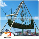 Beston Indoor/outdoor amusement park rides portable playground mini pirate ship for sale