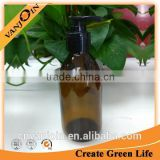 250ml Amber Glass Bottle With Lotion