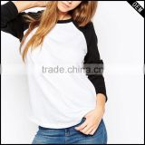 ladies fashion tshirts and womens t-shirts made in china with high quality comfort colors t-shirts