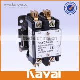 12v air compressor contactor,2 phase air conditioner magnetic contactor with factory price