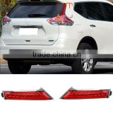 12V LED Tail Lights Rear Column Lamp For Nissan X-trail Rogue 2014 2015 Rear-end Tail Brake Parking Lights Rear Warning Light