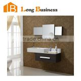 LB-JL2171 Particle board bathroom cabinets bathroom cabinet products with brown melamine