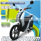 escooter with EEC Lead acid battery , lithium ion battery . electric scooter with pedal assisted system