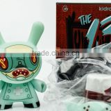new design Creative kidrobot diy vinyl toys/OEM custom unique diy dunny vinyl toy/Make design PVC vinyl toys China manufacturer
