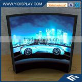 Giant size aluminum frame light box