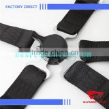Polyester Material Black Color 5-point Racing Seat Belt Harness Wholesale China
