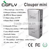 24 hrs shipping!!!Cloupor mini 30W mod 18650 battery vv vw 30W Distinctive design box mod 30w box mod cloupor mini