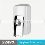 ABS wall mounted non-refillable sanitizer soap dispenser disposable bag liquid soap dispenser