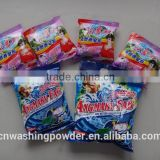 high/low foam washing powder, detergent powder with Large scale washing powder OEM/ODM manufacturer