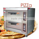 Pizza Oven 2-Deck, 4-Tray Gas bakery Oven/Kitchen Baking equipment/Food bakery machine                                                                         Quality Choice