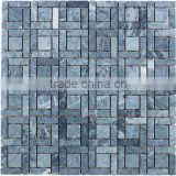 SKY-M054 Blue Jean Colour Radom Mosaic Tile
