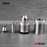 2015 Stainless Steel dripper Mini Colorful Artificial Aqua lawn Plants For rda aqua v2 atomizer /aqua v2 clone /aqua v2 tank