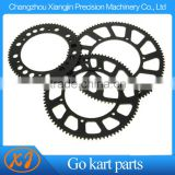 CNC Aluminum 7075 219 Pitch Aluminum Sprocket Gear For Racing Go Kart