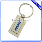 Wholesale good quality custom car logo chrome keychain
