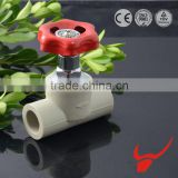 Very good welding applications popular in China PPR fittings Concealed valve with hand wheel