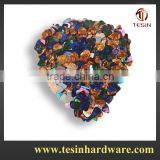Wholesale price and colorful plastic guitar pick of china making 500 pcs lots with bulk packing