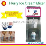 commercial use professional frozen fruit ice cream maker mc flurry machine