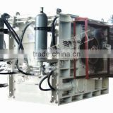 hydraulic press machine quad roller three-times crusher machine manufacturer/construction machine