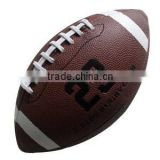 PVC PU leather american football