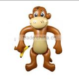 advertising PVC inflatable monkey toy for promotion gift